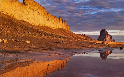 Shiprock On A Stormy Morning