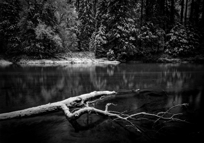 First Snow, Merced River