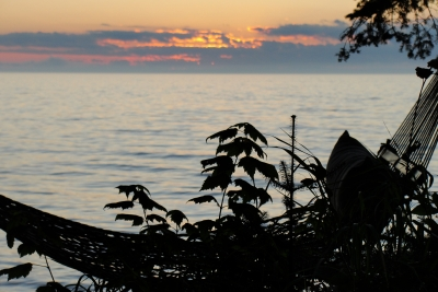 Lounging By Lake Superior