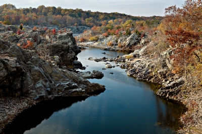 Fall Colors At Great Falls