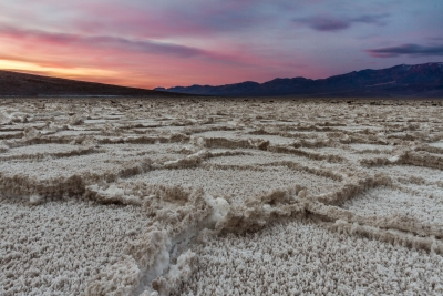 First Light At Badwater Basin