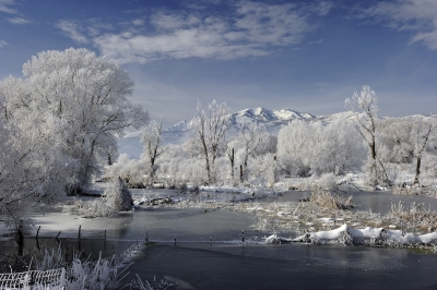 Ice And Snow – Middle Provo River