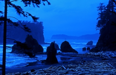 Last Look At Ruby Beach