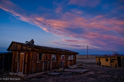 Ghost Town At Dusk