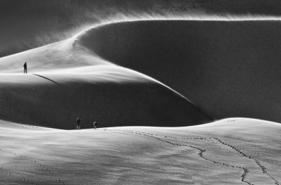 Footsteps In The Dunes