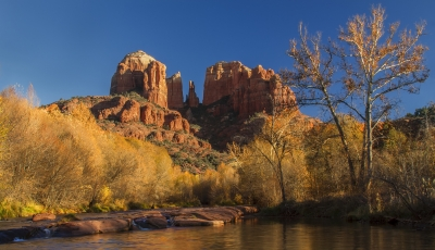 Cathedral Rock Late Afternoon