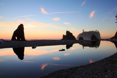 Ruby Beach Reflections