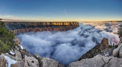 Perfect Inversion At Yaki Point