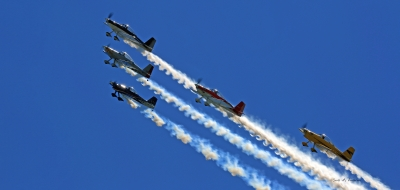 Air Show At Binghamton, New York