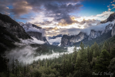 Tunnel View Clearing