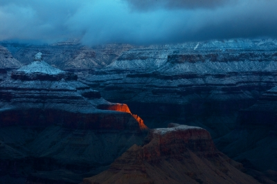First Light In The Canyon.