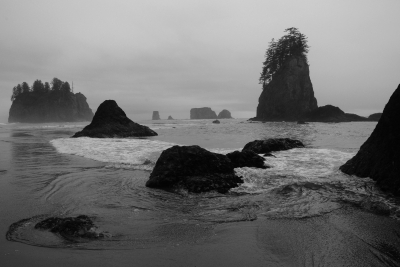 Drizzly Day At Second Beach