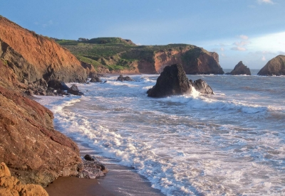 Golden Hour At The Marin Headlands