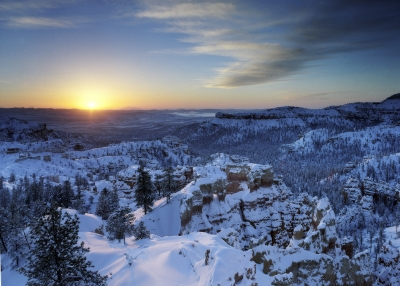 Bryce Canyon Winter Sunrise