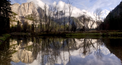 Yosemite Cloud Reflections