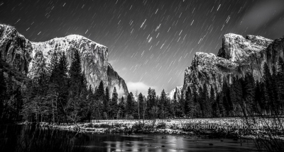 Yosemite Star Trails