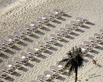 Chairs On Parade In Cancun