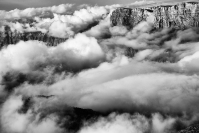 Grand Canyon Clouds.