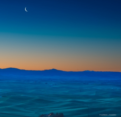 The Palouse Before Dawn