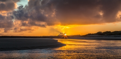Sunset Over The Gower