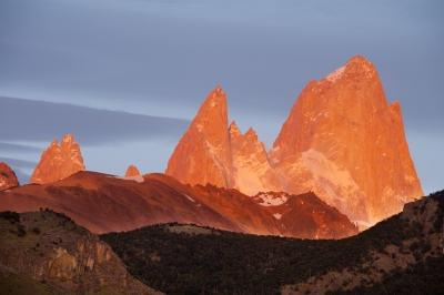 Fitzroy Massif At Sunrise, Patagonia