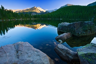 Colorado, Rocky Mountain National Park, Bear Lake
