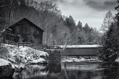 A Wintery Mcconnell's Mill