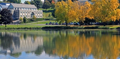 Fall Reflections At Colgate University