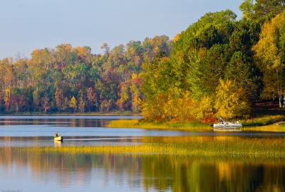 Autumn Morning On Crooked Lake