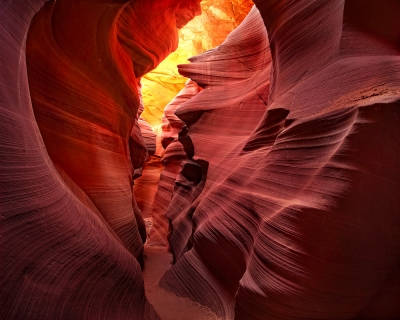 Lower Antelope Canyon Heart Walkway