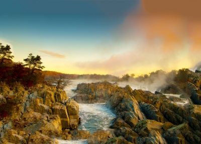 Sunrise, Great Falls National Park