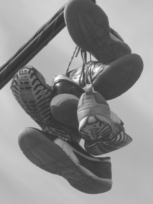Sneakers On A Wire # 4