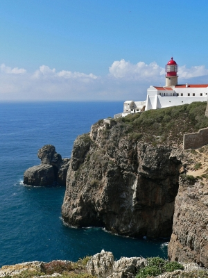 Lighthouse At Sagres