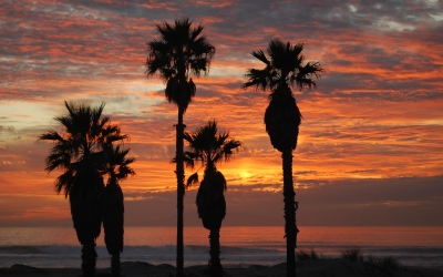 Oxnard California Sunset