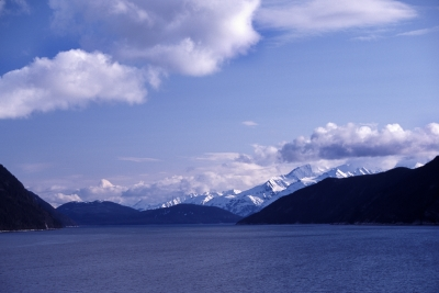 Mountains And Sea On The Inside Passage