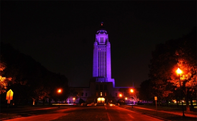 Capitol In Purple