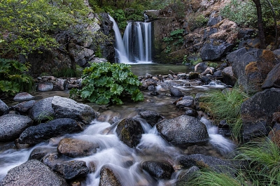 Upper Crystal Creek Falls