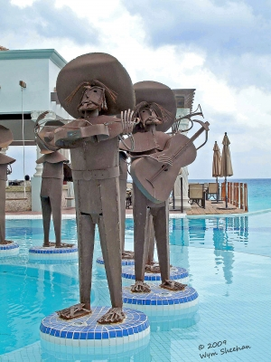 With The Marching Band In Cancun