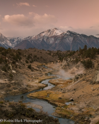 Autumn Sunrise, Hot Creek (eastern Sierra)