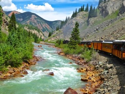 Riding The Train In Paradise