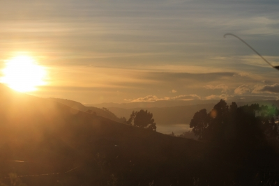 Sunrise Up In The Andes