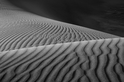 Early Morning On Mesquite Flat Dunes