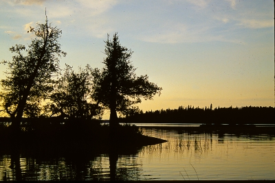 Barrle Lake Sunset