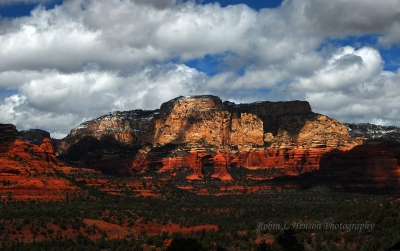 Mostly Cloudy Partly Sunny In Sedona