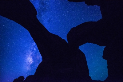 Milky Way Over Double Arch