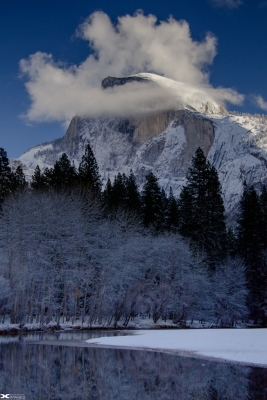 Half Dome – Winter Day