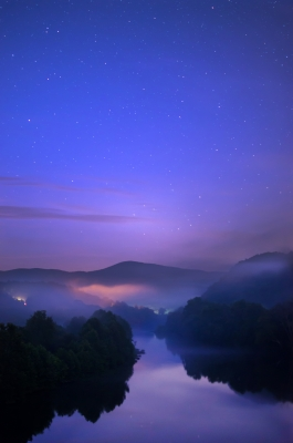 Night Over The James