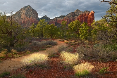 Arizona, Sedona, Red Rock Country, Sunset