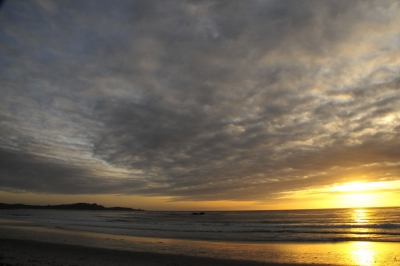 Carmel Beach Sunset