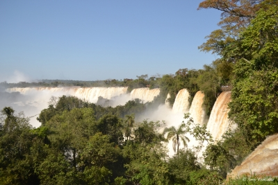 Blue Sky Over Iguazu